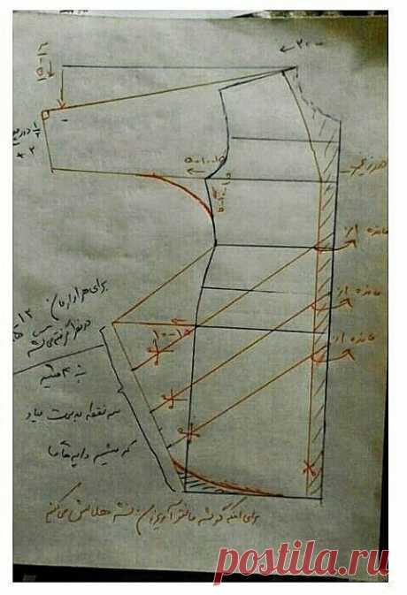 Моделирование кардигана-накидки с объемными драпировками по бокам — DIYIdeas