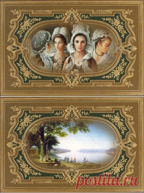 Картинки для декупажа шкатулок
