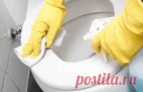Как легко очистить унитаз от стойкого загрязнения и налета. Дешево и экологично