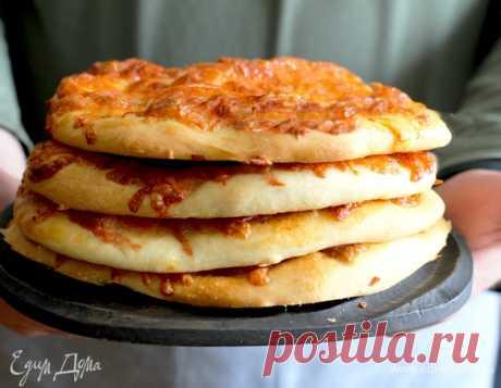 Дрожжевые лепешки с ветчиной и моцареллой, пошаговый рецепт, фото, ингредиенты - daiquiri