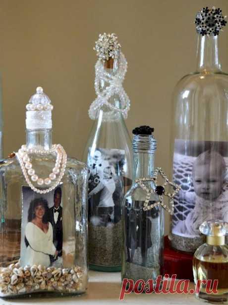 Вот что можно сделать из пустых бутылок из-под вина