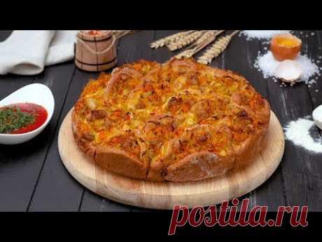 Пирог с квашеной капустой - Рецепты от Со Вкусом