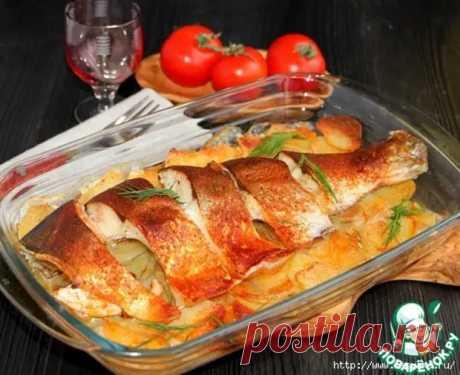 Бесподобная рыба с картофелем под масляной корочкой! - Ваши любимые рецепты - медиаплатформа МирТесен