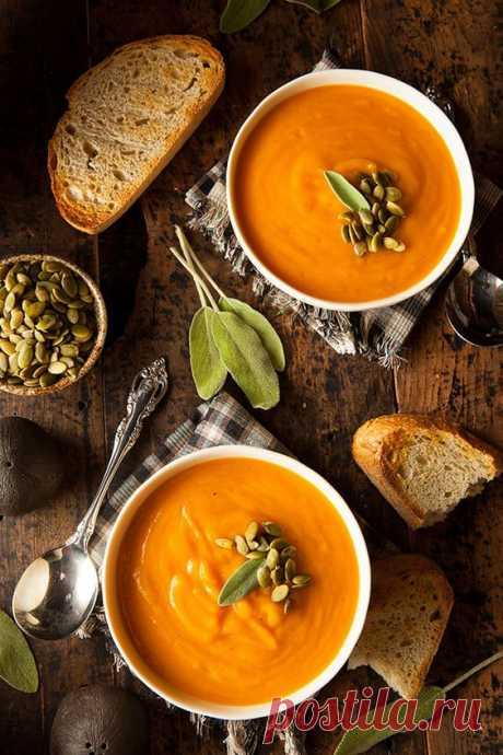 Суп из тыквы: 3 нескучных рецепта