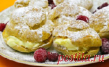 Заварное пирожное Птешуа с необыкновенно вкусным кремом, который можно использовать в торт Наполеон!