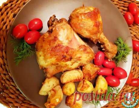 Курица по-гречески – кулинарный рецепт