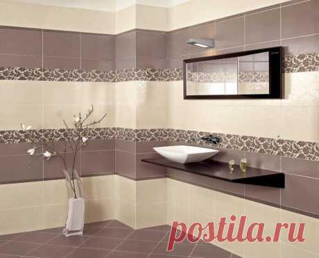 Как обыграть цвет сантехники в ванной с помощью плитки | Рекомендательная система Пульс Mail.ru