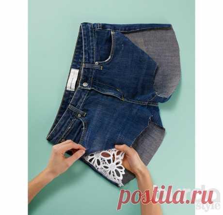 Короче: как из джинсов сделать модные шорты / Мастер-классы / Burdastyle