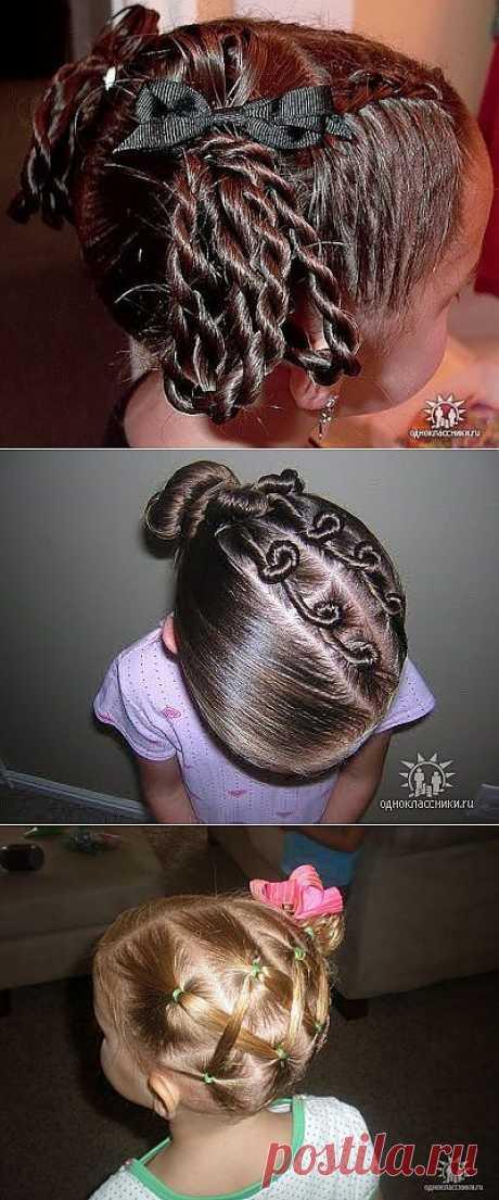 """""""Королевские"""" причёски для девочек (подробные фото-инструкции)."""