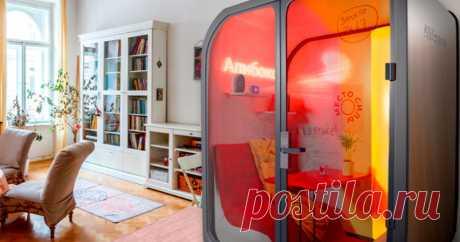 Создана капсула для изоляции россиян Виртуальная торговая площадка AliExpress представила капсулу для самоизоляции в квартире.