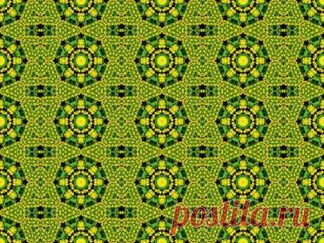 Grüne nahtlose geometrische Muster  Kostenloses Stock Bild HD - Public Domain Pictures