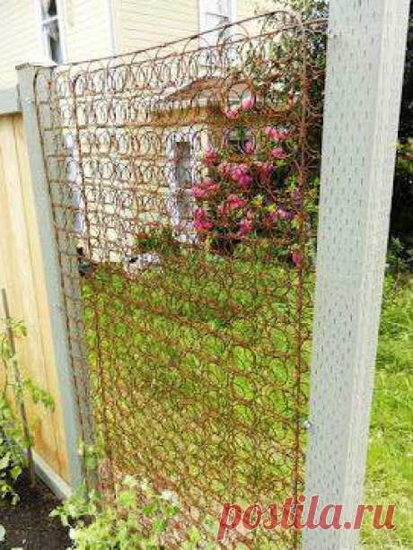 Идеи садовых решеток - Садоводка