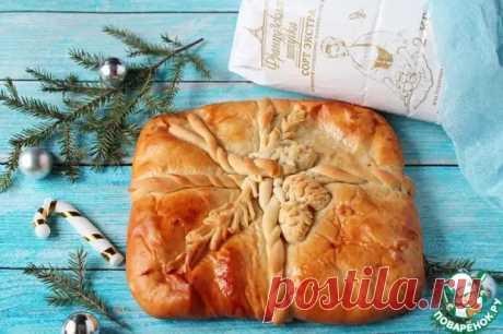 """Пирог """"Новогодний подарок"""" - Поварёнок с лучшими рецептами - медиаплатформа МирТесен"""