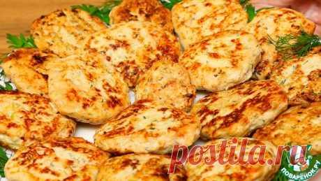 Куриные котлеты с кабачком Кулинарный рецепт