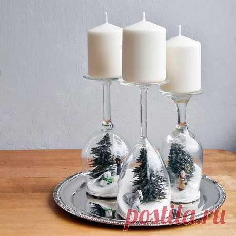Как украсить новогодний стол своими руками - идеи сервировки с советами и фото
