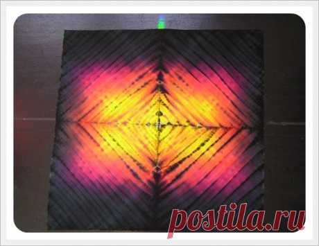 ¡Incomparable MK por uzelkovomu al batik!!! SHibori.