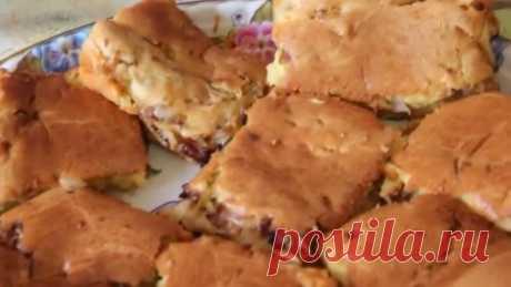 Рецепт пирога с капустой. Быстрый пирог с капустой.Очень вкусно!!!