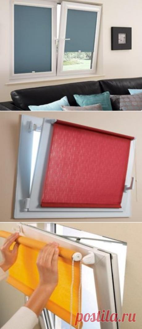 Как установить рулонные шторы на пластиковые окна: Пошаговая инструкция