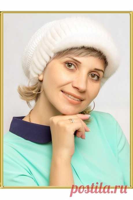 """Норковая кепка """"Ладога"""" купить по цене 4550 руб. с доставкой по России."""
