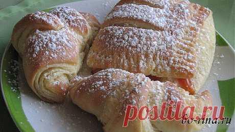 Домашнее слоёное дрожжевое тесто и выпечка из него | Домохозяйки
