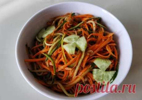 (6) Острый салат из моркови и огурца 🥕🥒 - пошаговый рецепт с фото. Автор рецепта Ирина Волигова . - Cookpad