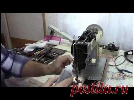 Швейная машинка Подольск 142.Часть2.Игольная пластина и смазка.Видео №4.