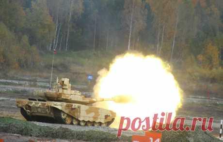 Испытания новейшего танка Т-90МС попали на видео  Российские военные представили кадры испытаний новейшего танка Т-90МС, созданного специалистами «Уралвагонзавода». Напоявившемся вСети видео новая экспортная модификация боевой машины демонстрирует…