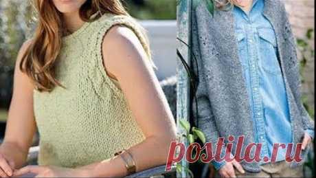 Женские модели спицами. Идеи для вязания - Women's models with knitting needles. Knitting Ideas