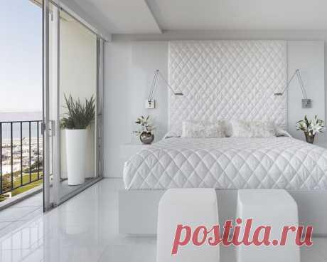 Примеры стильных белых комнат | Роскошь и уют