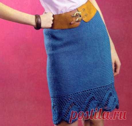 Вязаная юбка крючком на Ручками.ру ©