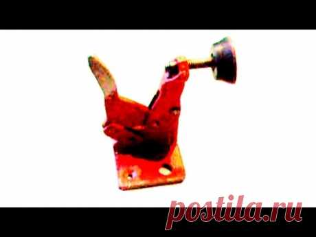 ЭКСЦЕНТРИКОВИЙ ПРИЖИМ СВОИМИ РУКАМИ .The eccentric clamp OWN HANDS