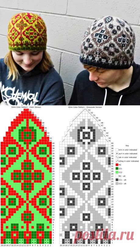 ISWUEw18 ** Килим: Knitty.com - зима 2018