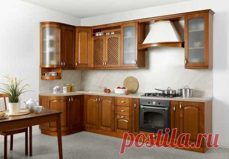 Кухня Трапеза Массив-Люкс 1335*2500 - Каталог мебели - Кухни Трапеза Массив Люкс - Эра мебели