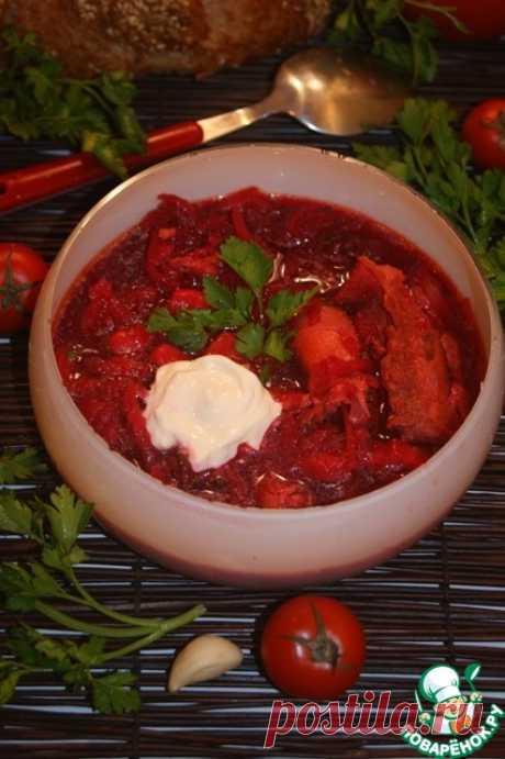 La sopa de remolacha en polaco - la receta de cocina