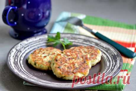 Tvorozhniki with potato, cheese and greens | the Cat's house