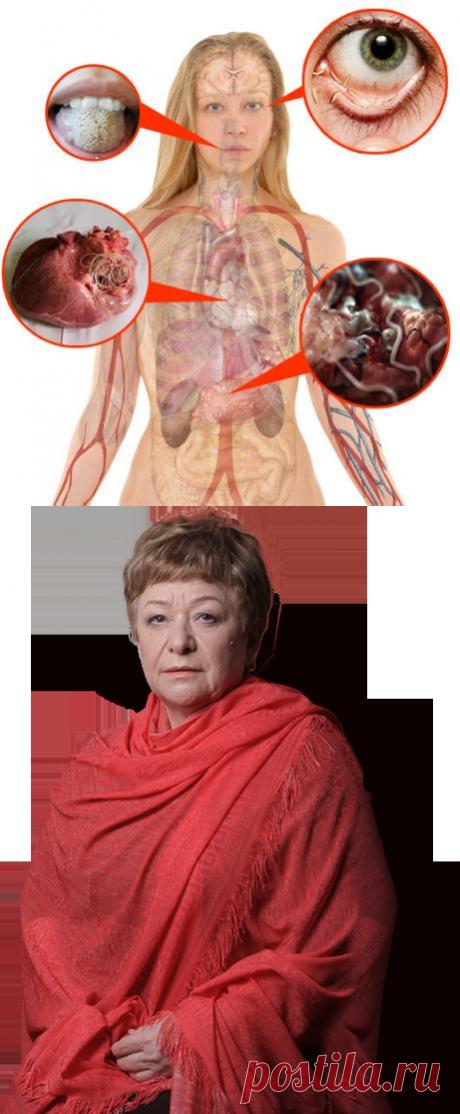 Знаете ли вы, что 91% заболеваний возникает из-за паразитов?