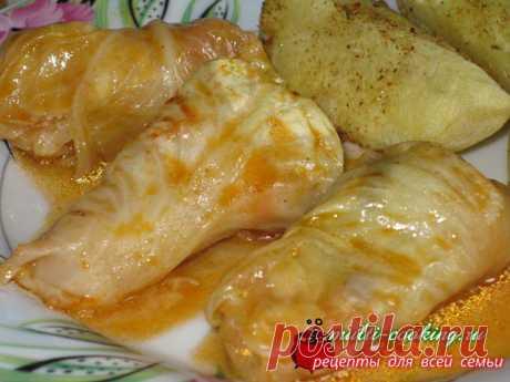 Голубцы из молодой капусты | Рецепты для всей семьи