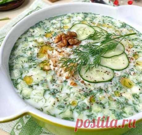 Изысканные рецепты холодных супов   Вкусные кулинарные рецепты с фото и видео