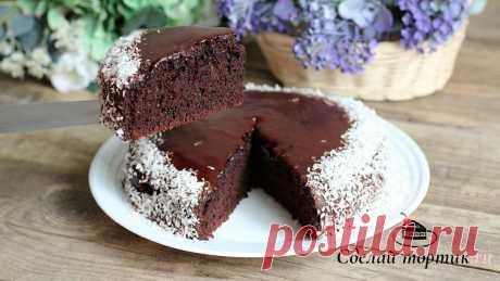 Пирог из ничего ⋆ Без яиц и молока | Сделай тортик.ru | Яндекс Дзен