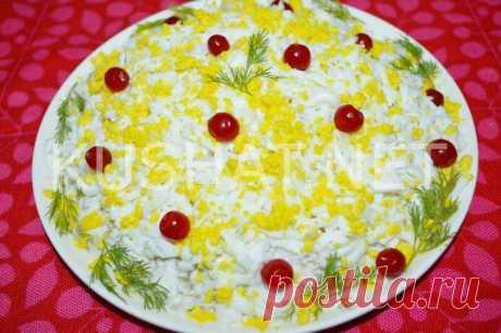 Салат «Печенкин». Пошаговый рецепт с фото • Кушать нет