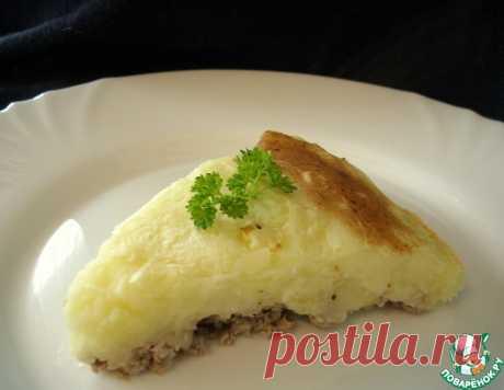 Французкая запеканка с картофелем и мясом – кулинарный рецепт