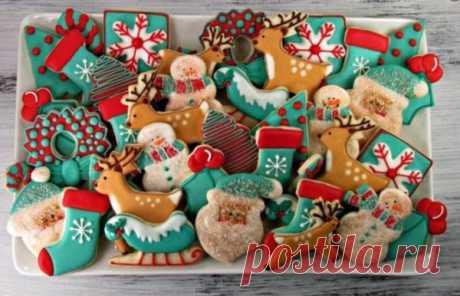 Как испечь имбирное печенье на Новый год 2020: лучшее рецепты с пошаговыми фото