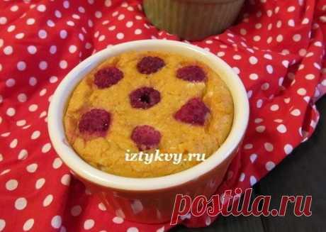 Творожное суфле с тыквой, бананом и морковью - рецепт полезного десерта