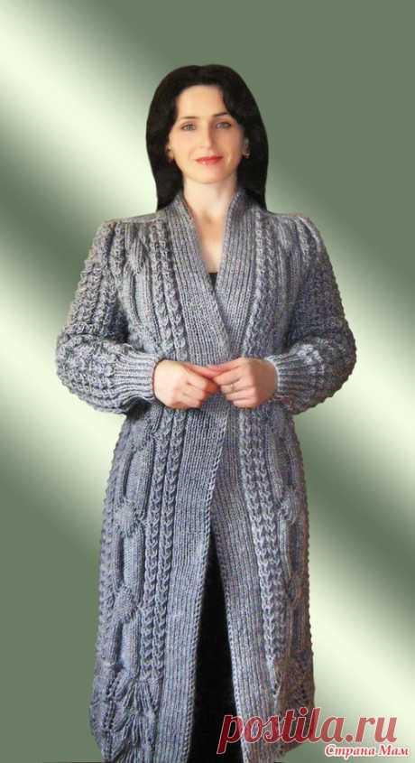 Пальто с каймой