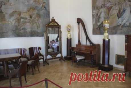 El Ermitaje estatal (5).kollektsii de los interiores y los muebles