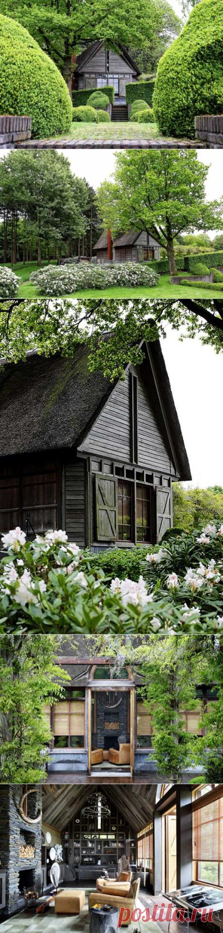〚 Деревянная избушка в Нидерландах 〛 ◾ Фото ◾Идеи◾ Дизайн
