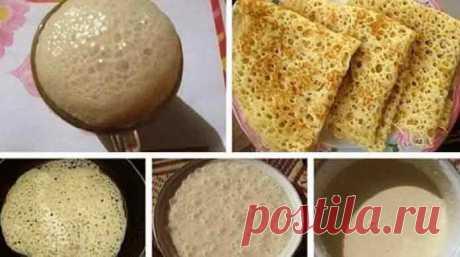 Ажурные блинчики на молоке рецепт с дырочками | Готовим рецепты