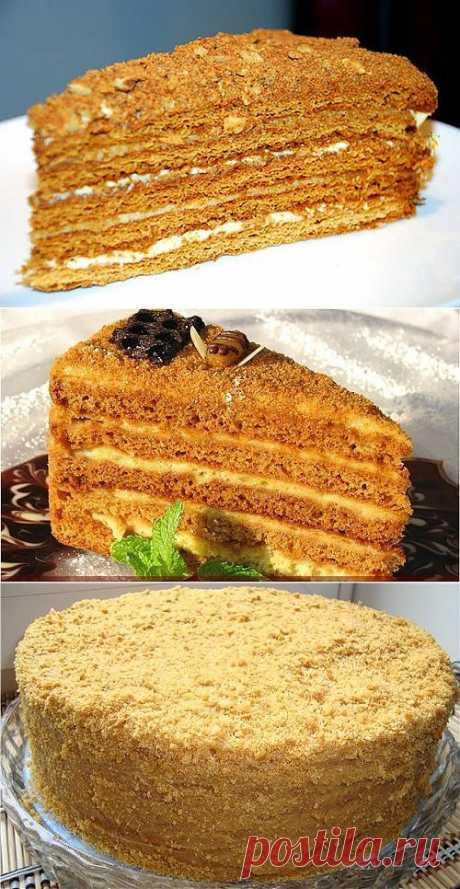 Торт Медовик – торт из детства / Простые рецепты