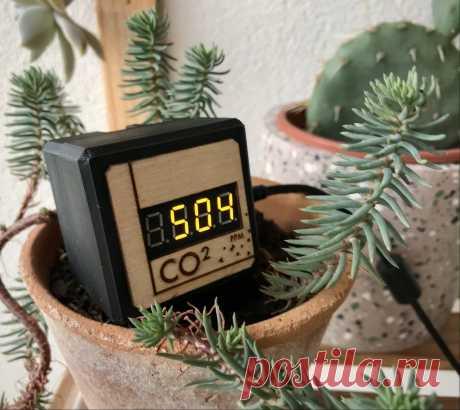 Устройство для мониторинга уровня CO2 Как следует из названия, данное устройство представляет собой датчик газа CO2, который подключается к USB-порту для отслеживания загрязнения внутри и снаружи помещений.Уровень CO2 отображается в реальном времени. С помощью приложения, можно делать захвата изображения графика. Инструменты и