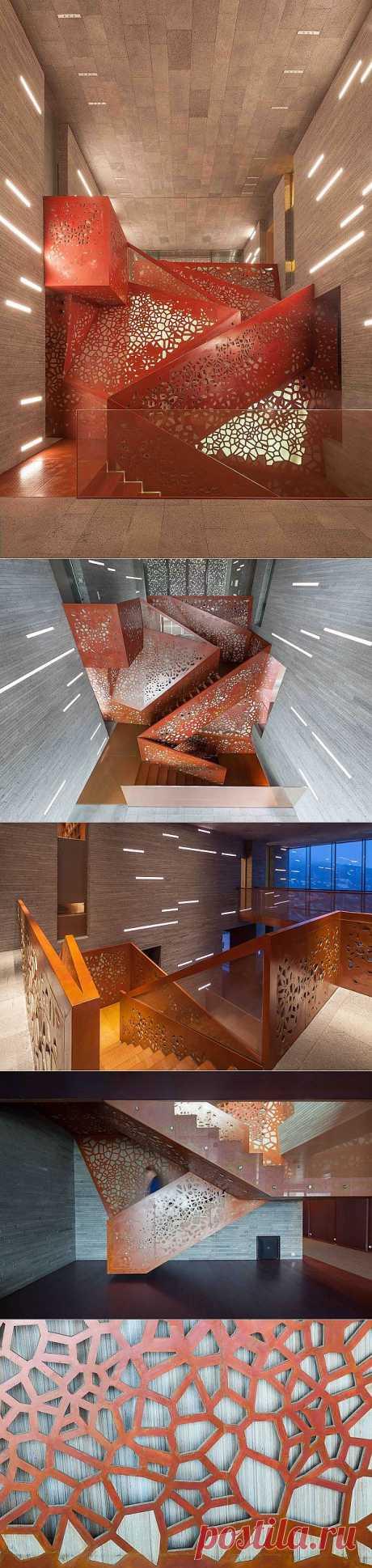 Необычная лестница от ARUP - Мир отделки и ремонта